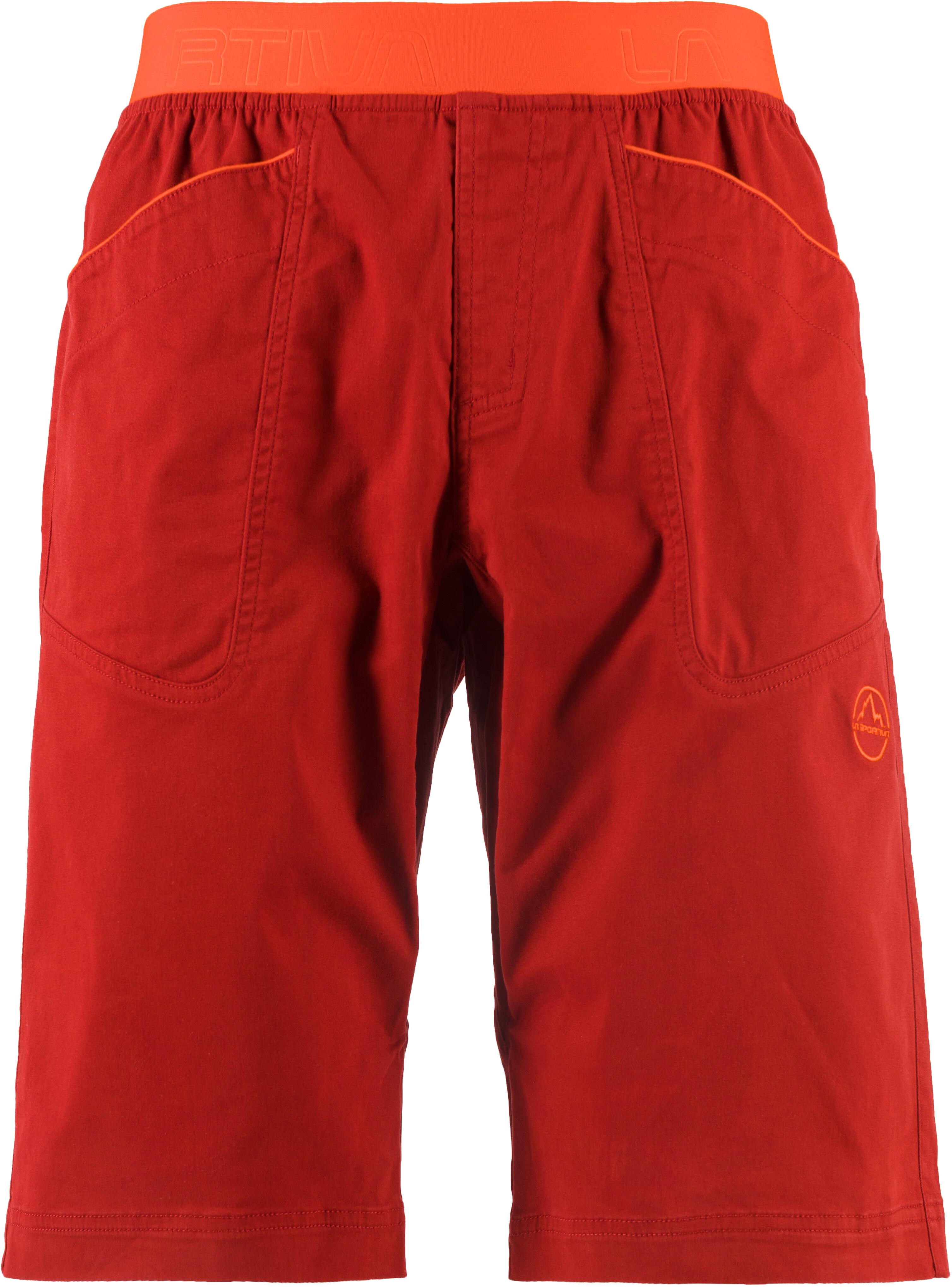 6a60f1c9496 La Sportiva Flatanger korte broek Heren oranje/rood l Outdoor winkel ...